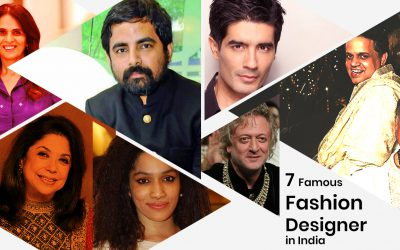 7 Famous Fashion Designer in India